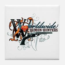 Wolrdwide Demon Hunters Tile Coaster