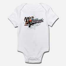 Wolrdwide Demon Hunters Infant Bodysuit