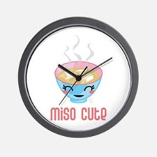 Miso Cute Wall Clock