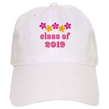 Floral Class Of 2019 Baseball Cap