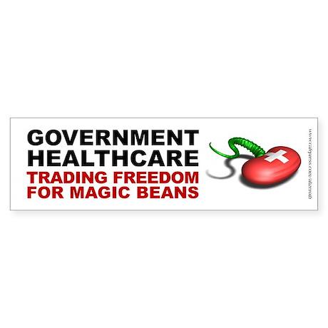 Healthcare Magic Beans - Bumper Sticker
