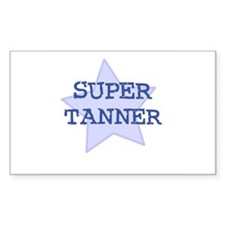 Super Tanner Rectangle Decal