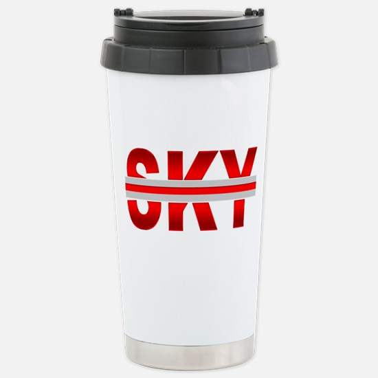 Red Sky Travel Mug
