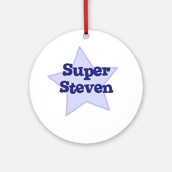 Super Steven Ornament (Round)