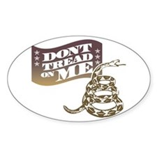 Dont Tread Southern Oval Decal