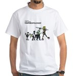 Certified Comic Book Fanthropologist White T-Shirt