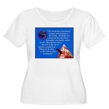 Web of Life Quote T-Shirt