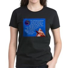 Web of Life Quote Tee