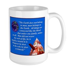 Web of Life Quote Mug