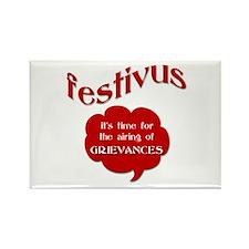Festivus - Airing of Grievanc Rectangle Magnet