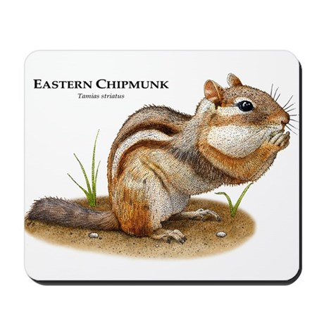 Eastern Chipmunk Mousepad
