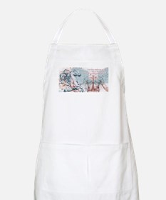 And the Horse He Rode BBQ Apron