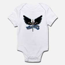 Faith on Angel Wings Infant Bodysuit