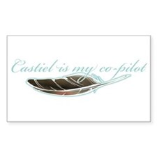 Angel Co-Pilot Rectangle Decal
