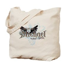 Archangel Michael Rides Again Tote Bag