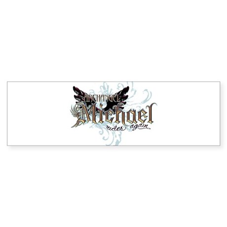 Archangel Michael Rides Again Sticker (Bumper 10 p