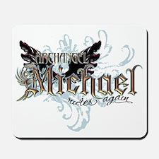 Archangel Michael Rides Again Mousepad