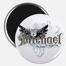 Archangel Michael Rides Again Magnet