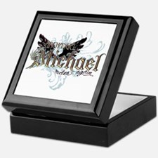 Archangel Michael Rides Again Keepsake Box