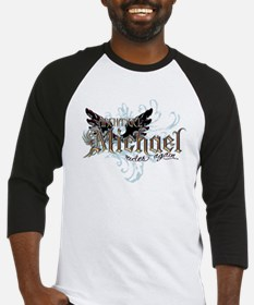 Archangel Michael Rides Again Baseball Jersey