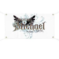 Archangel Michael Rides Again Banner