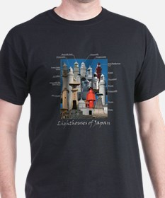 Lighthouses of Japan T-Shirt