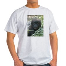 Baby Gorilla Ash Grey T-Shirt