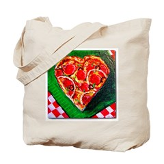 Pizza My Love Tote Bag