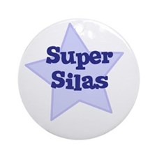 Super Silas Ornament (Round)