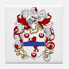 Dillon Coat of Arms Tile Coaster