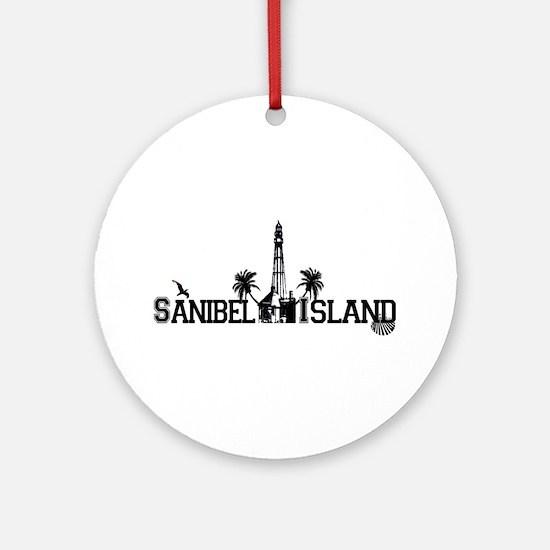 Sanibel Island FL Ornament (Round)