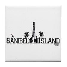 Sanibel Island FL Tile Coaster