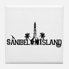 Sanibel Island FL Tile Coaster