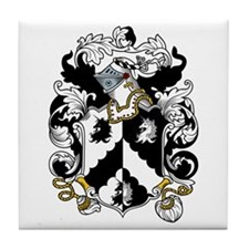 Dobbs Coat of Arms Tile Coaster