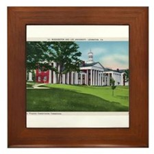 1935 Washington and Lee University Framed Tile