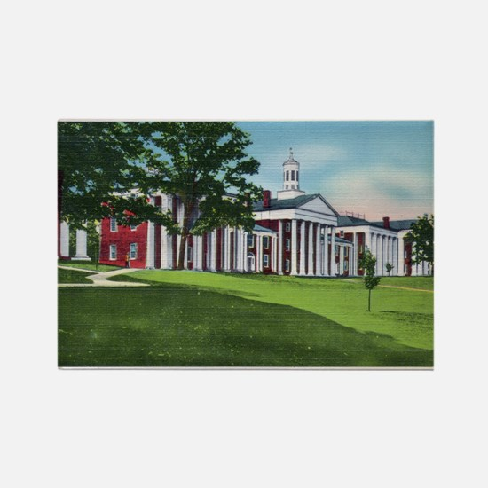 1935 Washington and Lee University Rectangle Magne