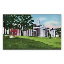 1935 Washington and Lee University Decal