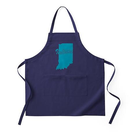 State Indiana Apron (dark)