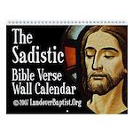 The Sadistic Bible Verse Wall Calendar