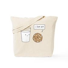 Unique I love cookies Tote Bag