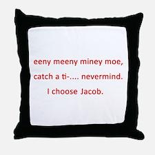 I choose Jacob Throw Pillow