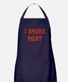 I Smoke Meat Apron (dark)