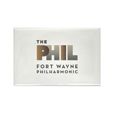 Funny Phil Rectangle Magnet