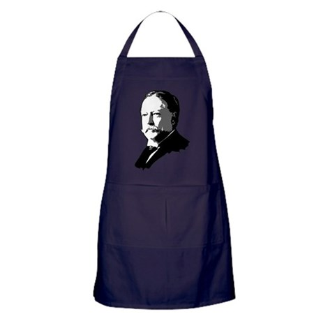 William Howard Taft Apron (dark)