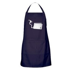 Gas Pumps Money out of Wallet Apron (dark)