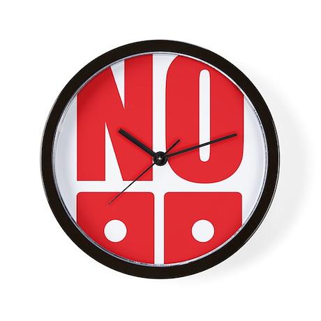No dice! Wall Clock