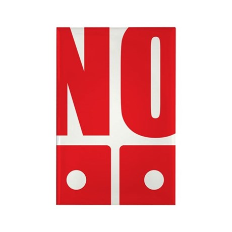 No dice! Rectangle Magnet (100 pack)