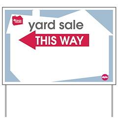 Yard Sale Kit - Yard Sign (LEFT)