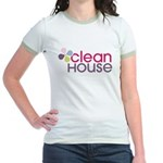 Clean House - Jr. Ringer T-Shirt