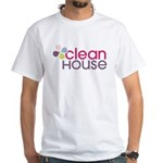 Clean House - White T-Shirt